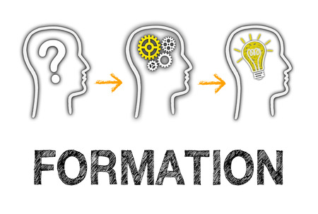 Formation and Education Business Concept Stockfoto