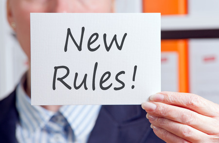 new rules: New Rules
