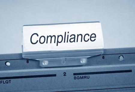 gobierno corporativo: El cumplimiento de la carpeta registro de índice