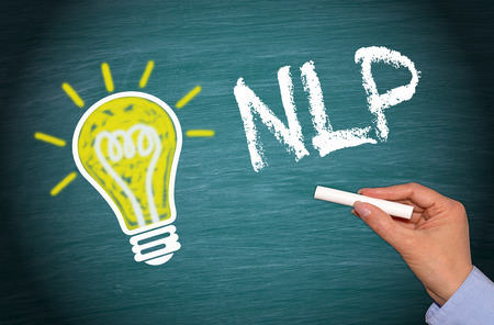 linguistic: NLP Neuro Linguistic Programming Stock Photo