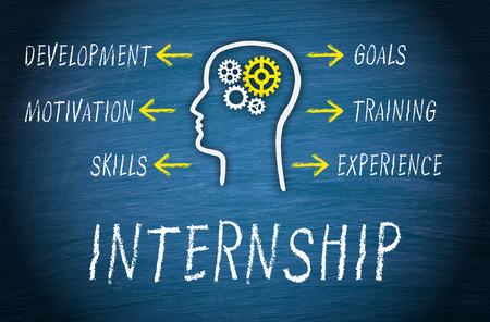 internships: Internship Business Concept