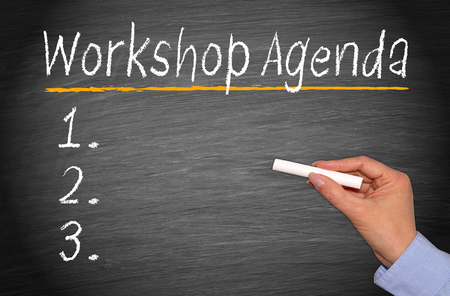 meeting agenda: Workshop Agenda