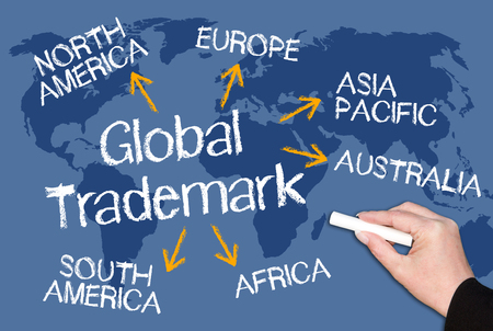 Global Trademark Banque d'images