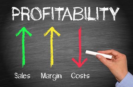 Profitability Business Concept