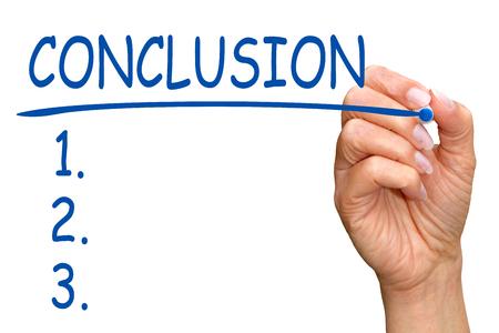 Conclusion and Checklist