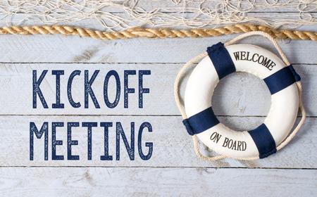 kickoff: Kickoff Meeting - Welcome on Board