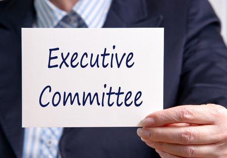 comité d entreprise: Comité exécutif