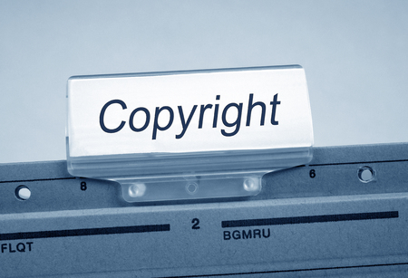 Copyright Register Folder Index in the Office