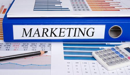 marketingplan: Marketing binder in the Office