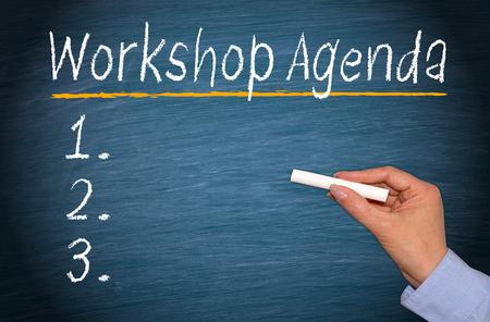 building planners: Workshop Agenda with Checklist