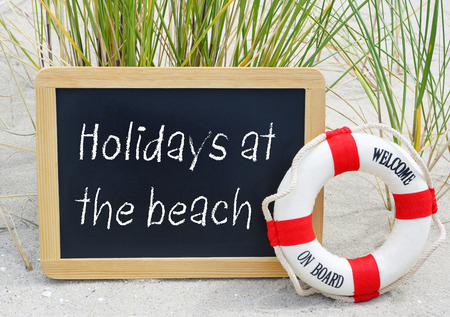 Holidays at the beach - welcome on board