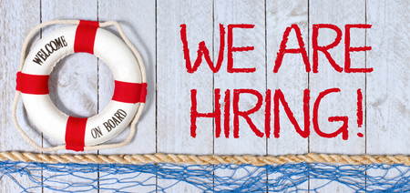We are hiring - Welcome on Board