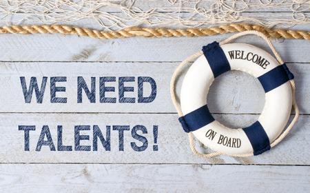 Wij hebben talenten nodig - welkom aan boord