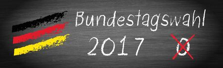 Elections in Germany 2017, Bundestagswahl Stock Photo