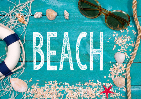 Beach Life - Happy Holidays