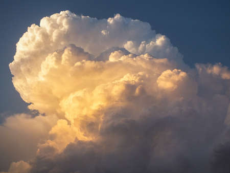 thundercloud: nube temporalesca Archivio Fotografico