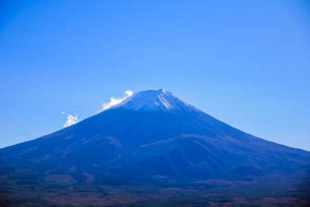 Peak of Fuji Mountain in Japan 版權商用圖片