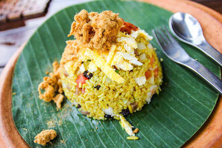 Delicious fried rice in Thailand