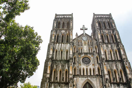 St. Joseph's Cathedral in Hanoi