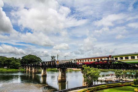 Bridge of River Kwai in Thailand