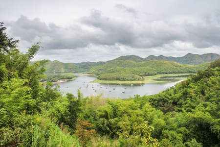 Reservoir in Thailand