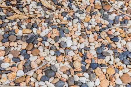 Many stone background