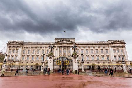 Buckingham Palace in London,UK