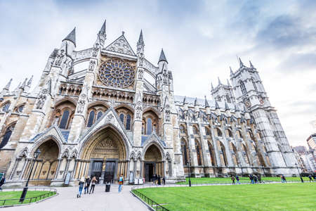 Westminster Abbey (The Collegiate Church of St Peter at Westminster) in London,UK 版權商用圖片 - 55845641