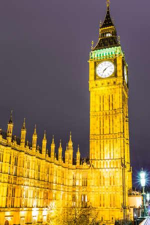 Big Ben in London, UK 版權商用圖片