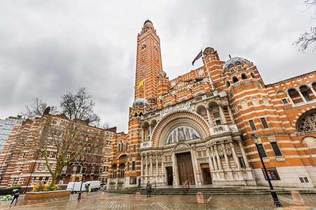 Westminster cathedral - London, UK 版權商用圖片