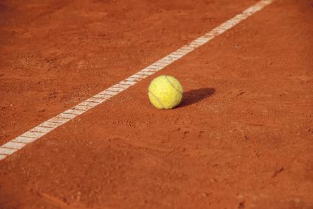 atp: Tennis ball Stock Photo