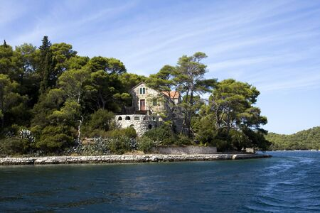 Classic Mediterranean residence located at the seaside