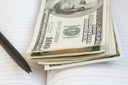 onehundred: Money Stock Photo
