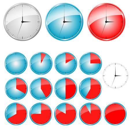 temporizadores del vector