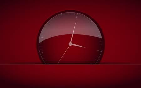hour glass:  Clock Icon Illustration