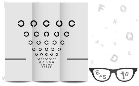 examen de la vista: Eye Chart
