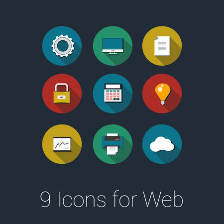 Vector Icons for Web and Mobile Applications