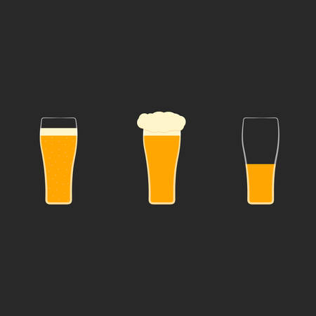 pint glass: Glass of beer