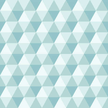 'retro styled': Abstract Geometric Triangle Seamless Pattern Illustration