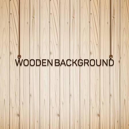 Vector wood plank background Illusztráció