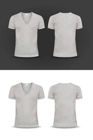 Vector T-shirt, Design template, women and men