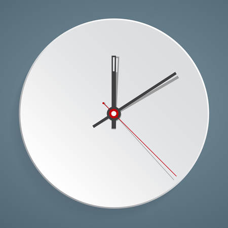 Clock face. Vector. Set up your time. Illustration
