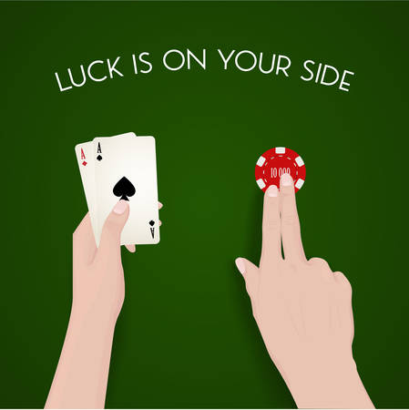 easy money: Gabling and luck, dealer, green cloth, fortune, easy money, live to win, cash out