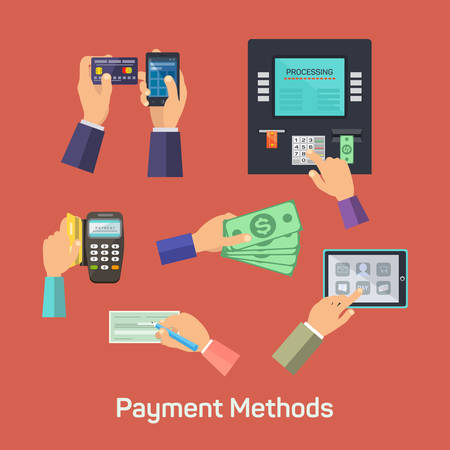Vector possibilities of payment methods