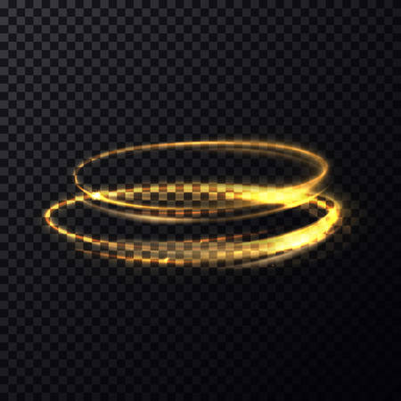 shimmer: Bright shimmer fire particles parallel ovals. Abstract luminous rings slow shutter fast speed moving effect. Glowing effect of flash or burst. May be used for abstract magic or science theme