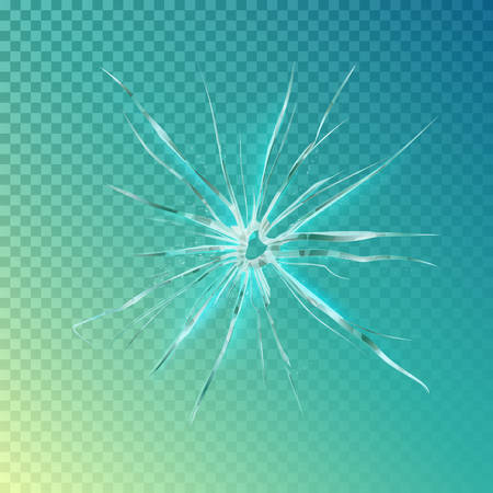 vandalism: Crack on window or glass, shattered screen background or hole in mirror. Crack on window surface or wrecked glass, damaged screen or broken glass. For vandalism or anger theme background