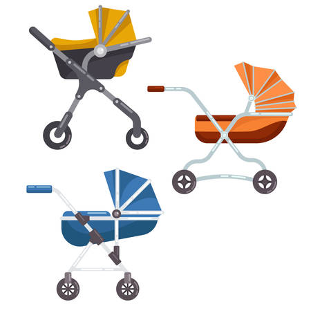 infant: Folding stroller or newborn baby, infant carriage