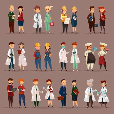 Dipendente e lavoratori per professioni mediche Archivio Fotografico - 77765316