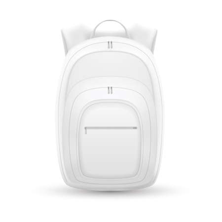 Isolated backpack, bag vector illustration design realistic