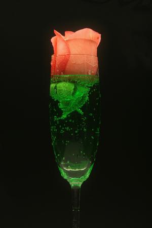 acqua di seltz: Con passo asciugatrice, rosa; soda